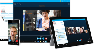 Skype for business multidevice
