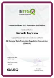 IBITG EU GDPR Foundation